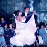 '99年4月教室が出来てなくて、練習も出来ずに外部のデモに出場。
