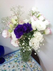 今週のお花です スターダンスらしい色使いに感謝!