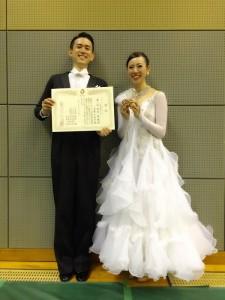 土多・大薗組 アマ・スタンダードB級優勝